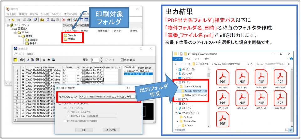 電キャビ 連続印刷(マルチPDF対応)(NEW)画像
