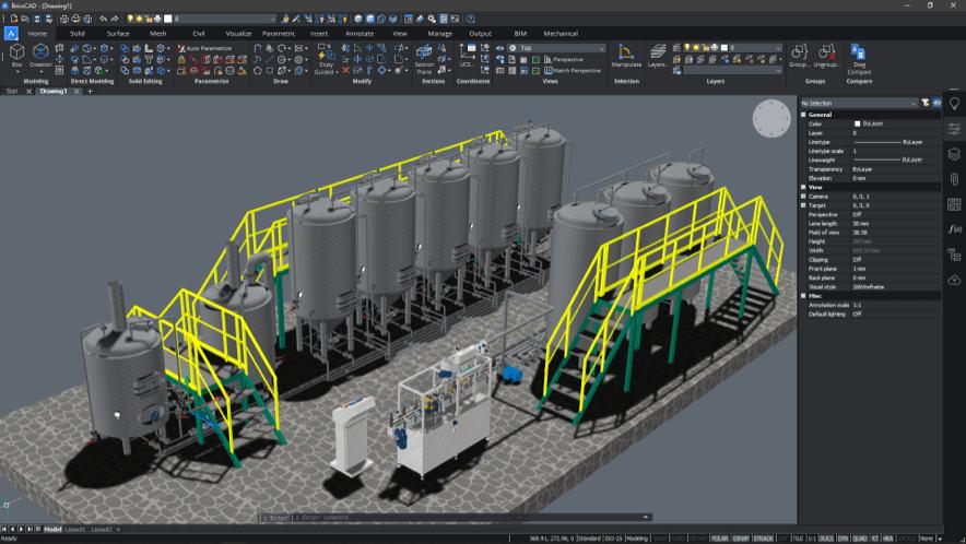 .dwg互換CAD BricsCAD